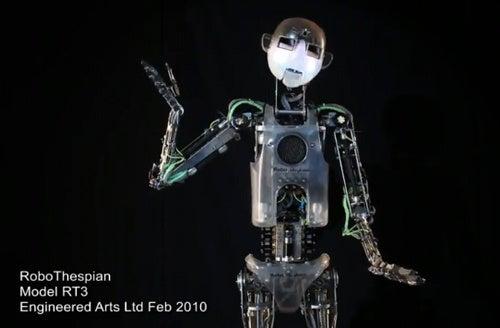 RoboThespian, the Acting Robot, Can Give Robert Pattinson A Run For His Money