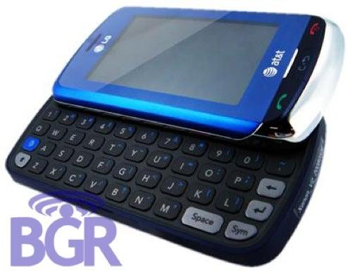 LG Xenon 3G Side-Slider Pics and Specs Leak