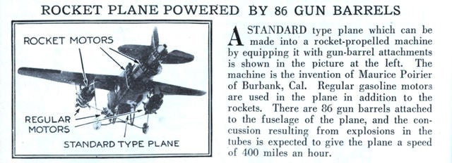 Quite possibly the most unnecessarily violent airplane ever invented