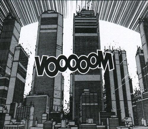 Original Akira artwork puts you at ground zero of the destruction of Neo Tokyo