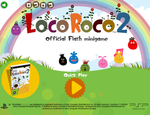 Give LocoRoco 2 A Try In Your Browser