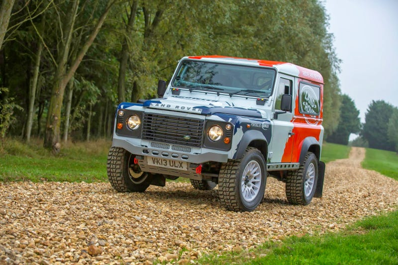 This Is The Land Rover Bowler Defender Challenge Car