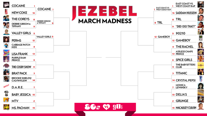 March Madness Day 4: The One With the Rachel