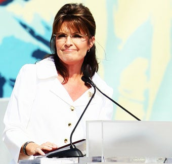Sarah Palin to Survey Her Future Domain