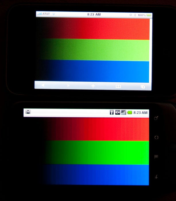 The Nexus One's Dirty Display Secret (Updated)
