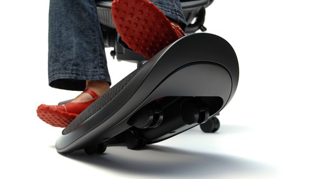 Webble Foot Rest for the Anxious Geek