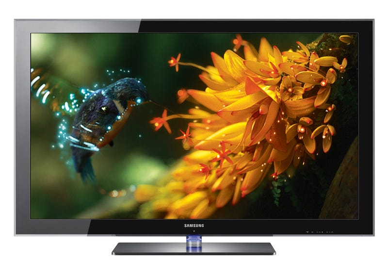 Samsung 8500 Series Local-Dimming LED TVs Have a Sweet Base