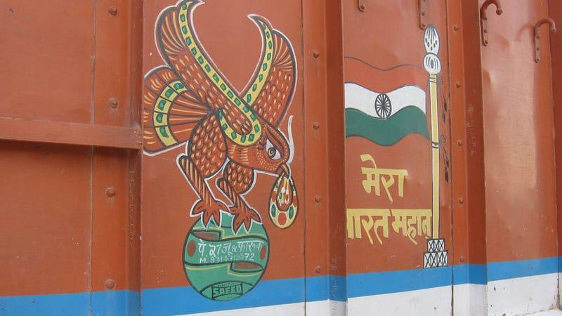 The Amazing Decorated Trucks Of India