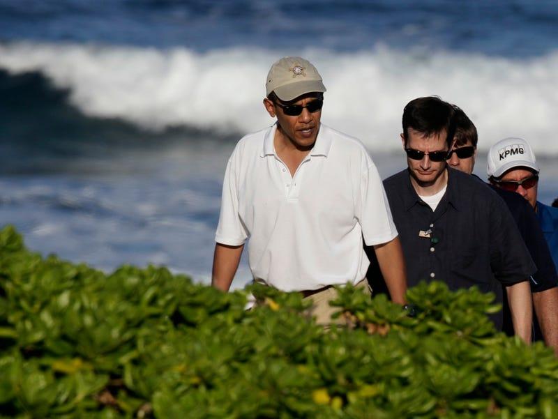 Barack Obama's Beach Covered in Poop