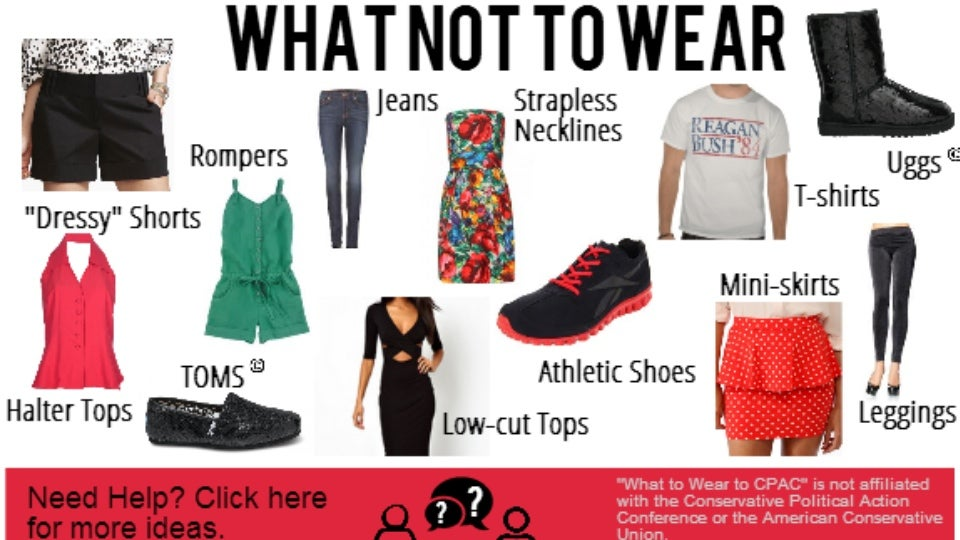 cpac releases suggested dress code  don u0026 39 t get caught in