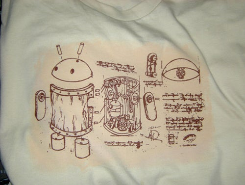 Wear a 16th Century Android Mascot On Your Chest