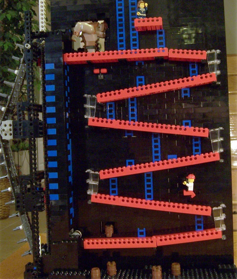 Moving Lego Donkey Kong People, Lego Donkey F*cking Kong