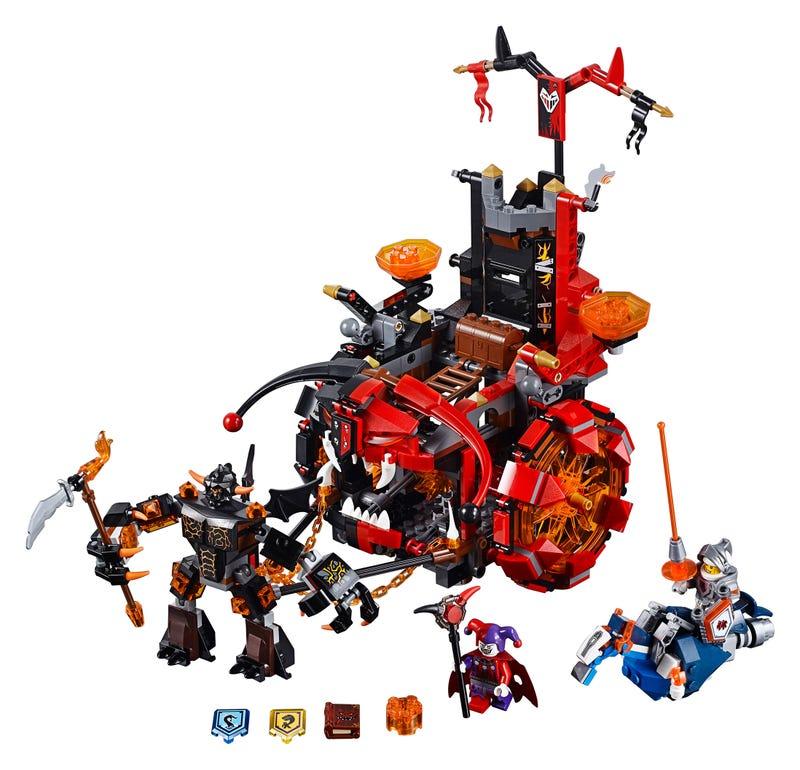 Future Knights Battle Dark Magic In LEGO's Latest Original Creation