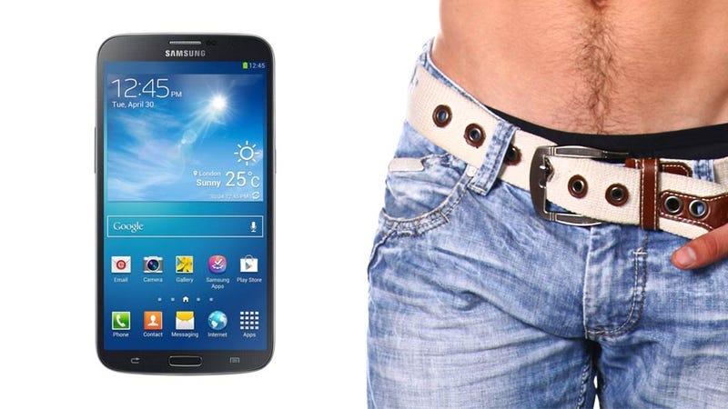 El nuevo Samsung Galaxy Mega es más grande que el 75% de los penes humanos