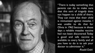 Read Roald Dahl's Heartbreaking Pro-Vaccination Letter (From 1988)