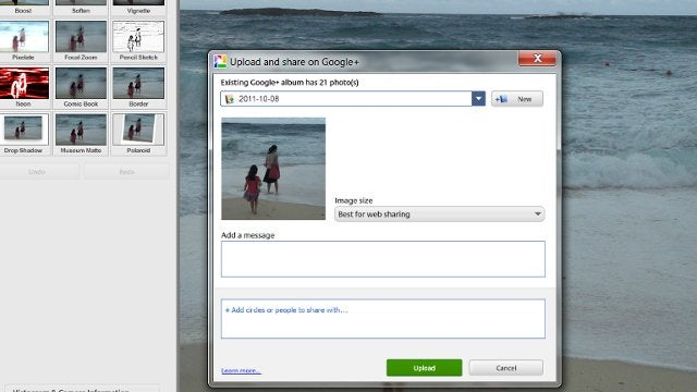 Picasa Now Shares Photos on Google+, Adds More Photo Effects and Side-by-Side Picture Viewing