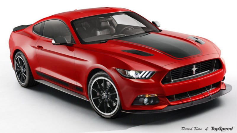This Is What The Next Ford Mustang Mach 1 Could Look Like