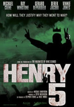Michael Caine cast in apocalyptic retelling of Shakespeare's Henry 5