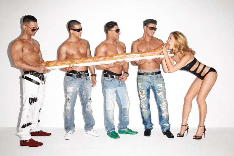 Jersey Shore's Terry Richardson Photo Shoot Is Here to Kill Irony