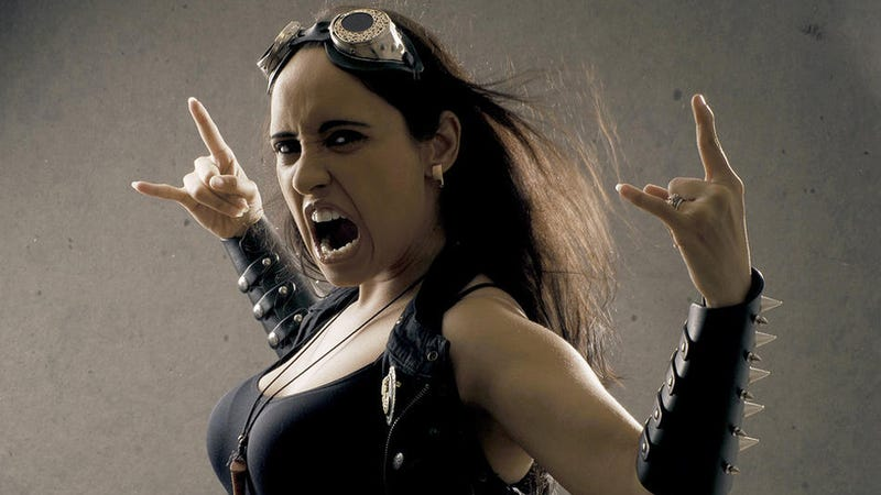 What Is It Like to Be a Woman Who Sings In A Metal Band?