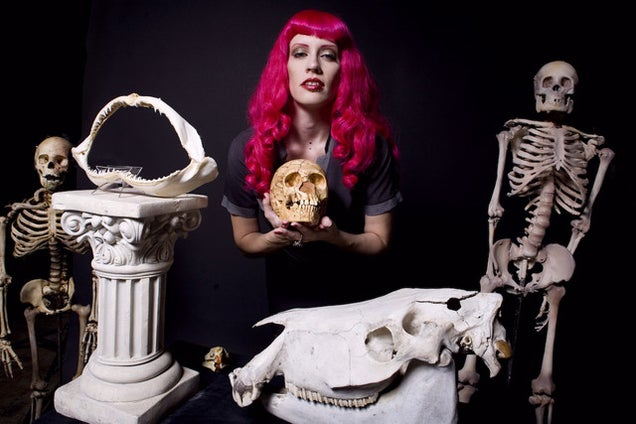Sexy skeleton models are easily the weirdest thing you'll see today