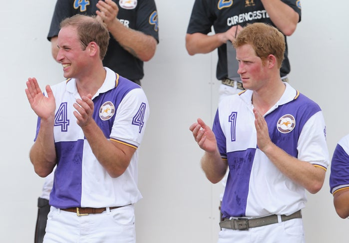 Prince William Plays Fun Game of 'Mirror' While Awaiting Birth of Child