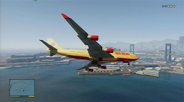 Kid Sneaks Past Security, Hides In Plane, Blames...Grand Theft Auto