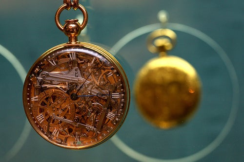 Marie Antoinette's Retro Futurist Pocket Watch