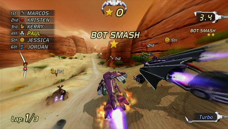A Glimpse at Excitebots Multiplayer Online