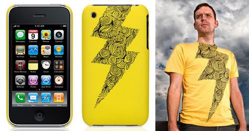 Threadless Shirts Become iPhone Cases