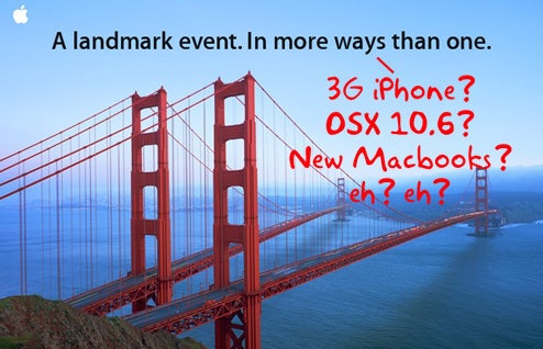 Are You More Interested in a New Macbook, OS X 10.6 or a New iPhone at WWDC? Do You Even Give a Damn?