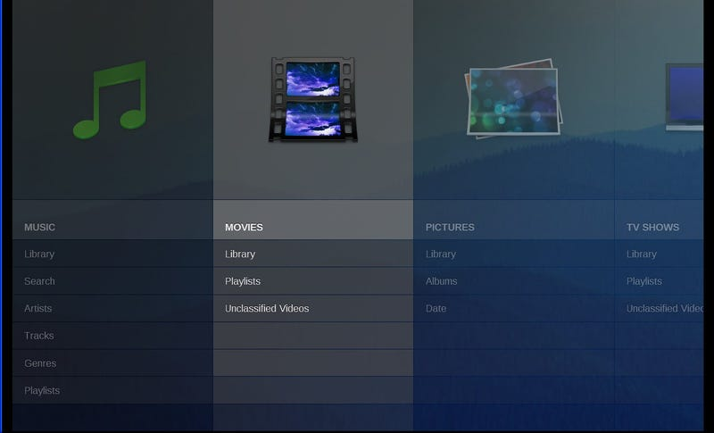 Moovida Media Center is a Simplified Big-Screen Player