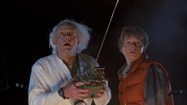 The Dark Time Travel Paradox At The Heart Of Back To The Future