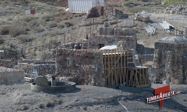 Wrath of the Titans Set Pictures