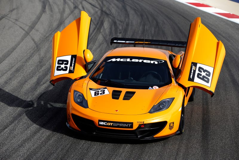 McLaren GT Reveals More Details About The Track-Bred 12C Sprint