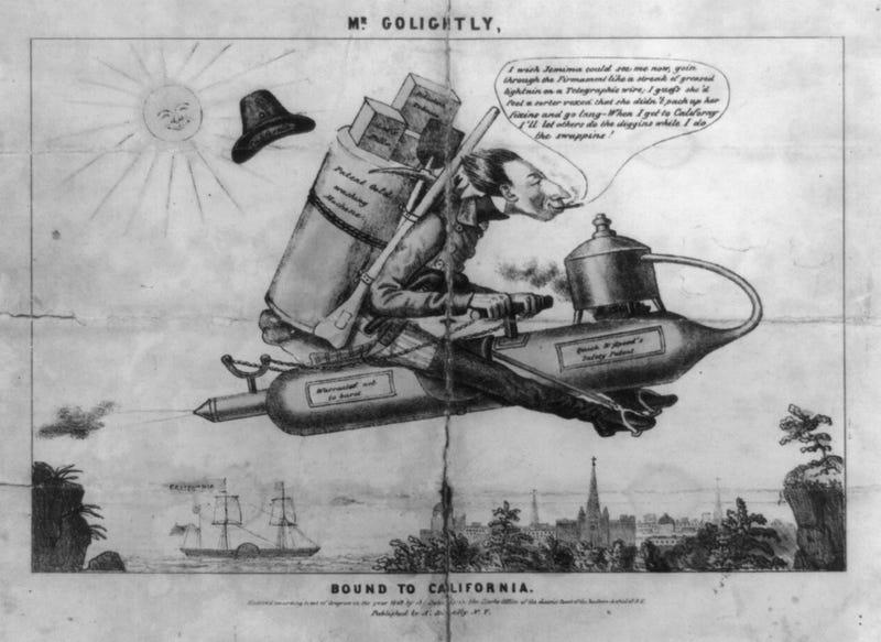 The Rocketeer Who Became a 19th Century Obsession