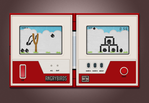 If Nintendo Had Made Angry Birds. In the 1980s.