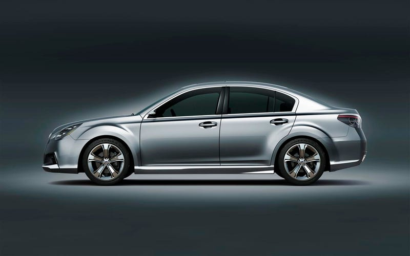 Subaru Legacy Concept: Fully Revealed With Details