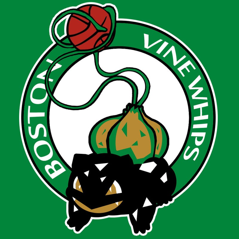 All NBA Logos Redesigned With Pokemon