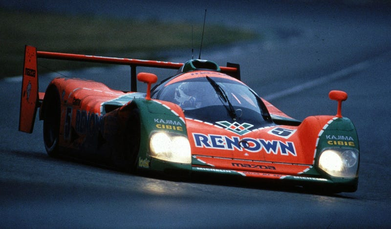 The Immortal Mazda 787b