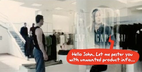 NEC's Minority Report-Style Display Tailors Adverts For You (Verdict: Frankenads)