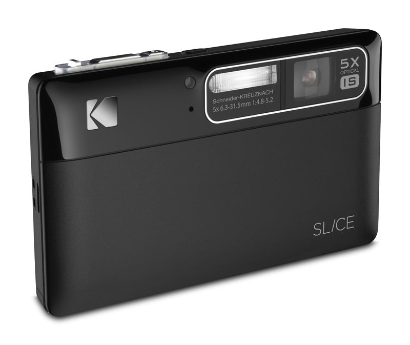"Kodak's First Touchscreen Camera Shoots 720p, Goes By ""Slice"""