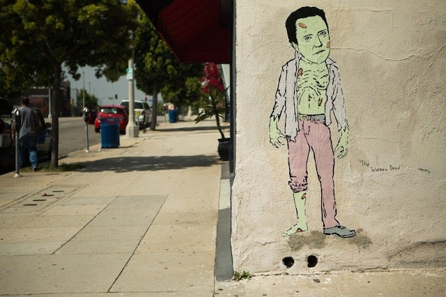 The Walken Dead and Toe-bias Fünke: A Punny Collection of Hanksy Street Art