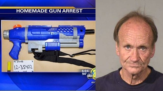 Man Busted With Homemade Shotgun Disguised as Super Soaker