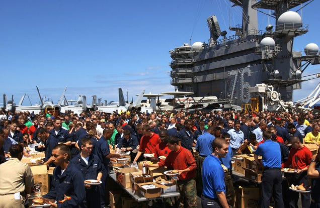 Steel Beach- When US Navy Ships Throw Giant Beach Picnic Parties