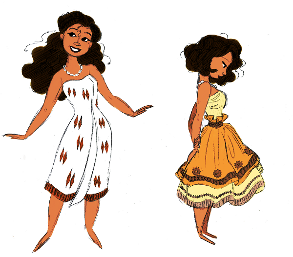 People are already drawing fanart of Disney's next princess