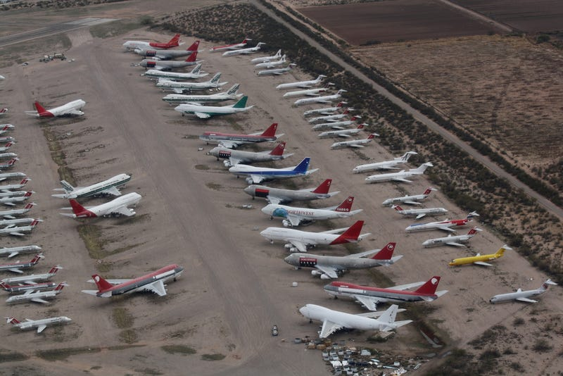 The Ten Most Unbelievable Airplane Junkyards In The World