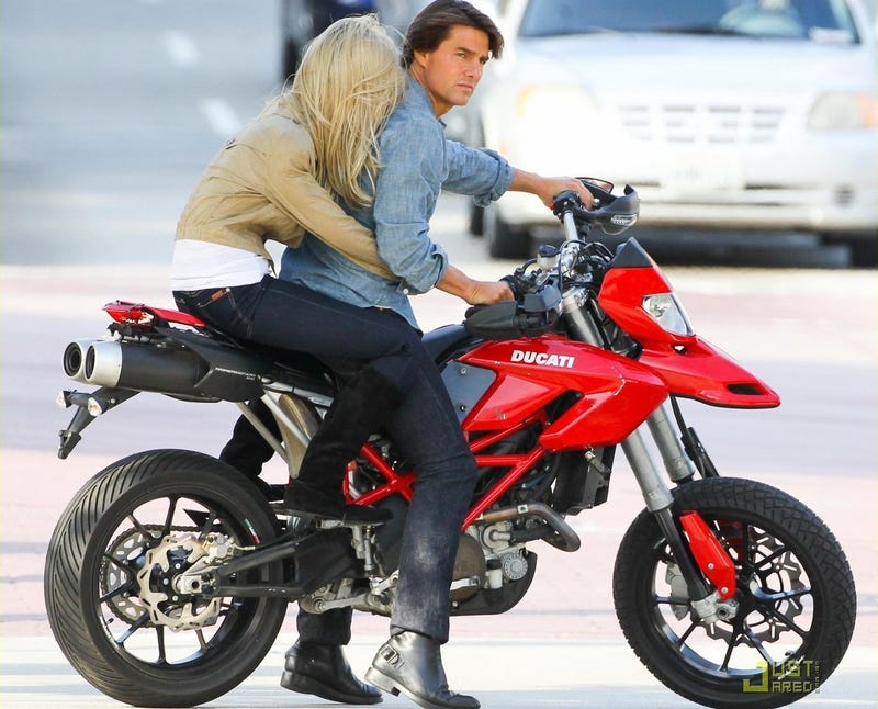 Why Tom Cruise Needs A Fake Motorcycle