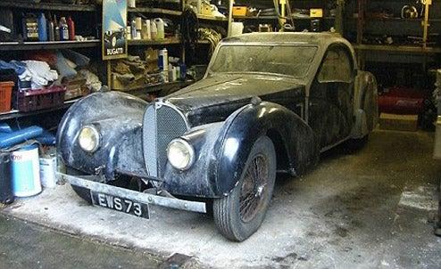 £3 Million 1937 Bugatti Found In British Garage After Almost 50 Years