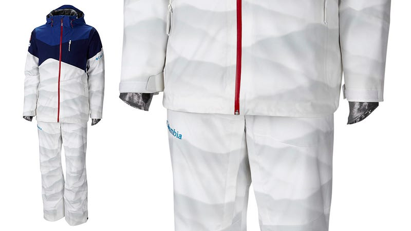 Subtle Snowy Camo Pattern Helps US Skiers Hide Bumpy Moguls Runs